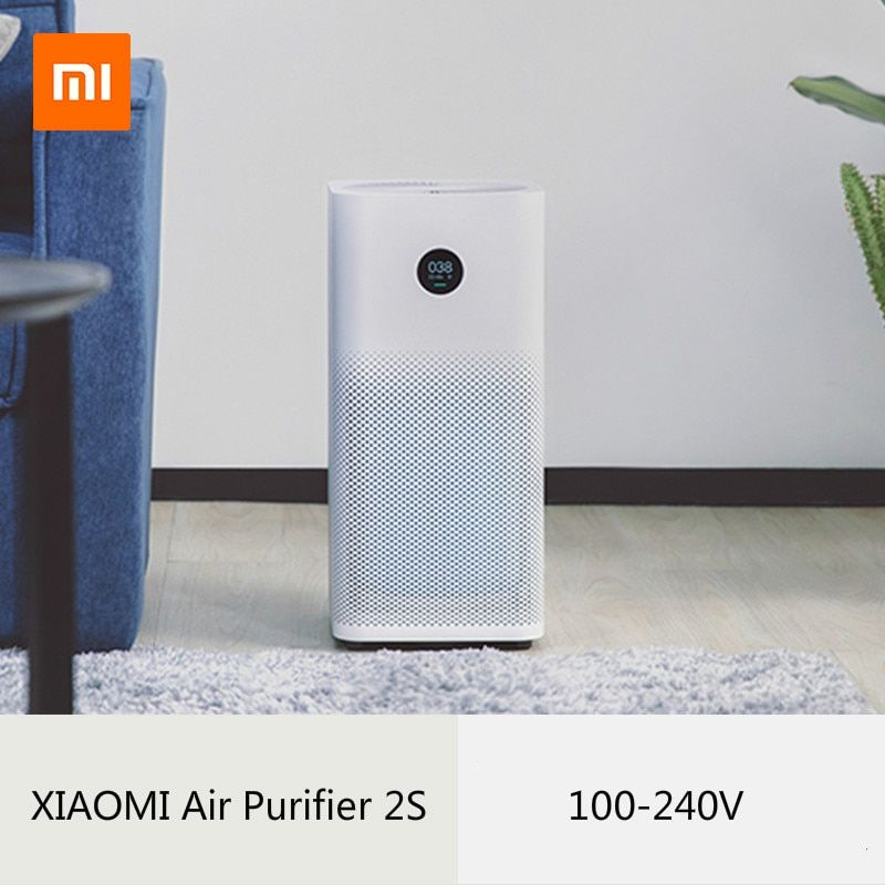 Now XIAOMI air purifier 2s sterilizer plus formaldehyde cleansing household smart filter HEPA Smart App wifi