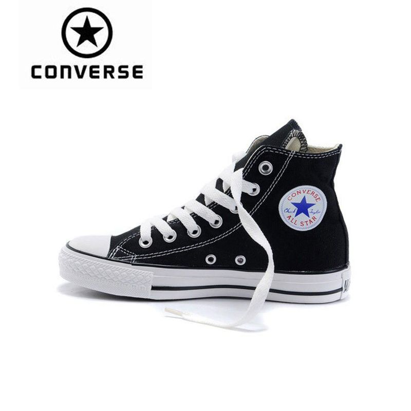 Converse Skateboarding Shoes Original New Arrival Classic Unisex Canvas High Top Anti-Slippery Sneaksers Comfortable 102307