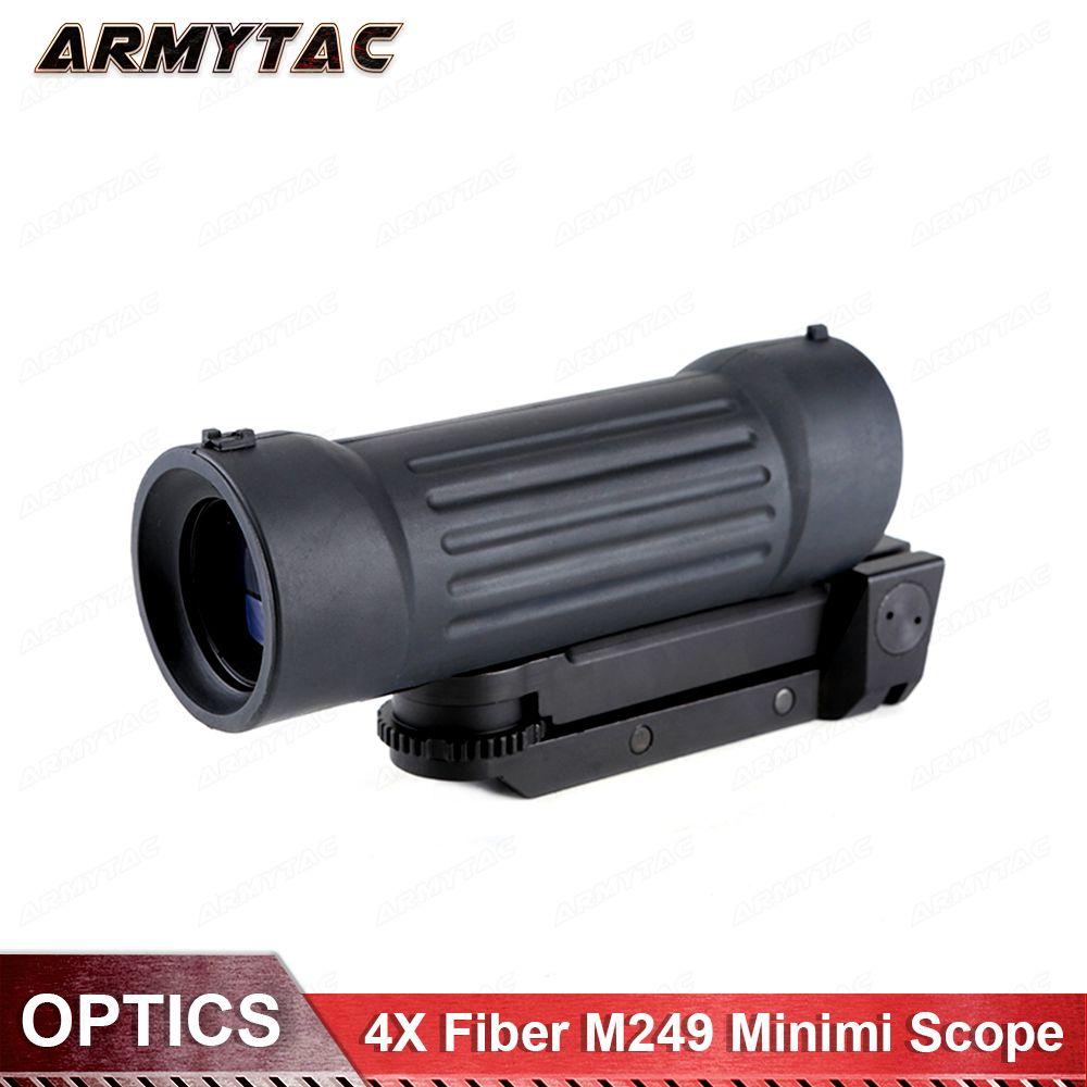ArmyTac 4X Faser BD1410 M249 Minimi Scope Airsoft Softair Ottica