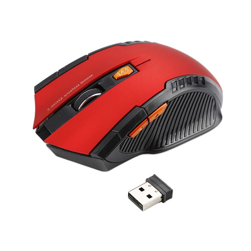 2018 New Wireless Mouse 1600DPI 2.4G Gaming Mouse Laser Mouse Gamer Silence Built-in Battery Computer Mice For PC Laptop