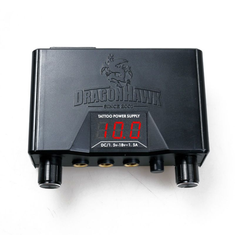 Dragonhawk Lcd Double Tatouage Machine Gun Alimentation
