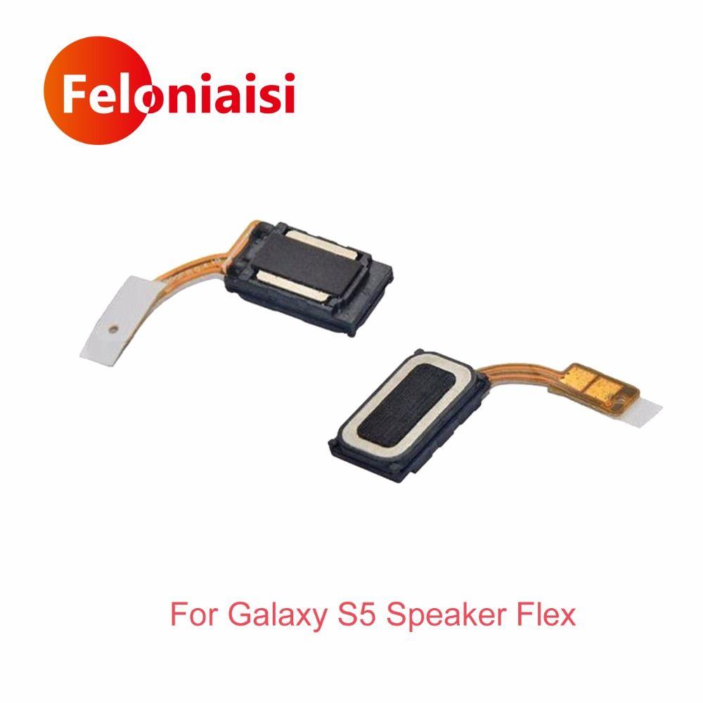 Hohe Qualität Für Samsung Galaxy I9600 S5 G900F Ohr Hörmuschel-lautsprecher Flex Kabel Ersatz