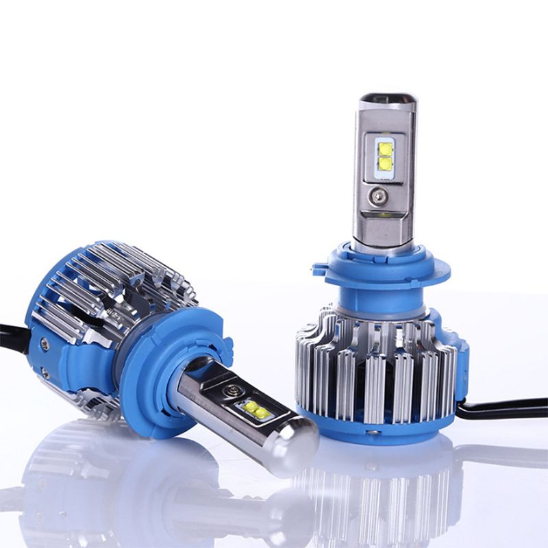 2018 Nuovo T1 turbo Led Faro Dell'automobile H1 H3 H4 H7 H8 H9 H11 9005 9006 880 881 DRL Daytime Running Light lampada di canbus