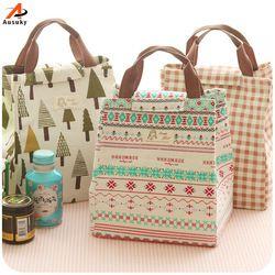 Новый портативный термальность сумки для обедов для женщин мужчин универсальный большой ёмкость сумки для хранения еда пикник изоляции Су