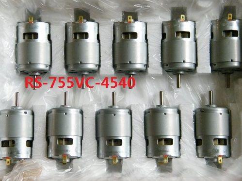 RS-755VC-4540 industrie automobile et machines commerciales moteur à courant continu nouveau moteur à vitesse de 18 V 30400 tr/min