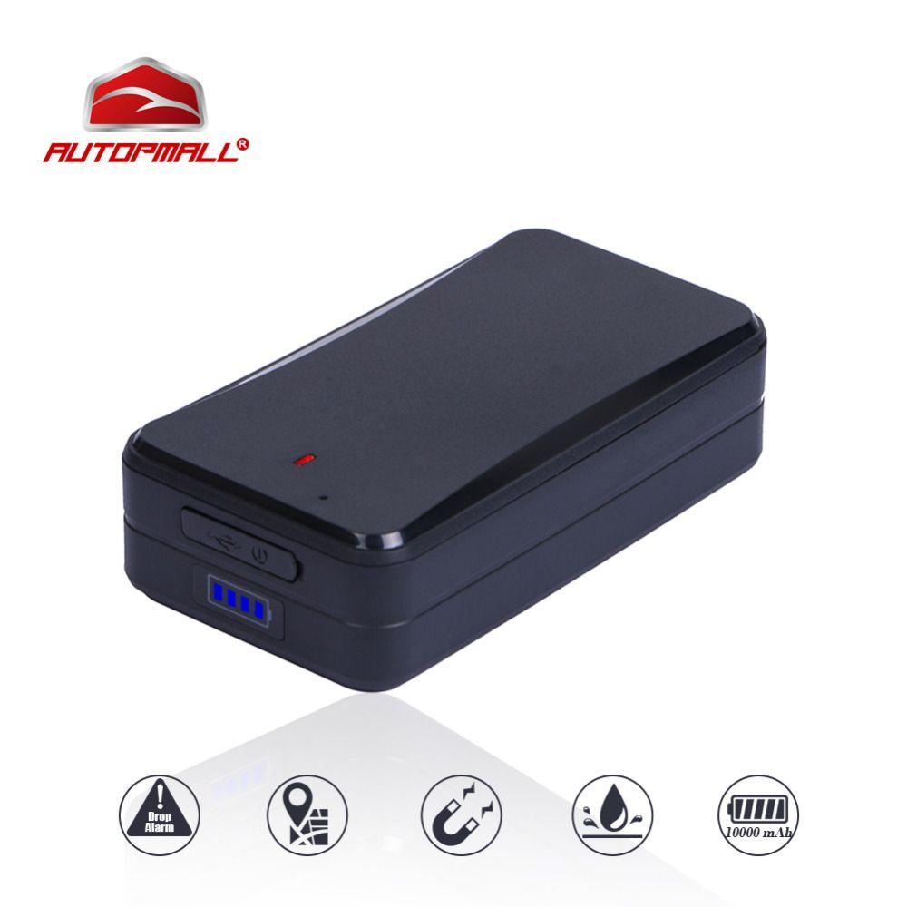 GPS Tracker Automagnete Fahrzeug Tracker Concox AT4 10000 mAh Wasserdicht IPX5 WiFi GSM GPRS £-Locator Kostenlose Tracking-Software APP