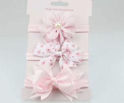 En vente 3 pc bébé fille garçon élastique fleur bandeau enfants maigre extensible Bowknot élastique Bande de cheveux