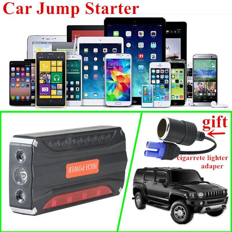 Mini Portable 12V Petrol Diesel Car Jump Starter 600A Peak Car Jumper Booster Charger 600A Starting Device Buster Power Bank LED