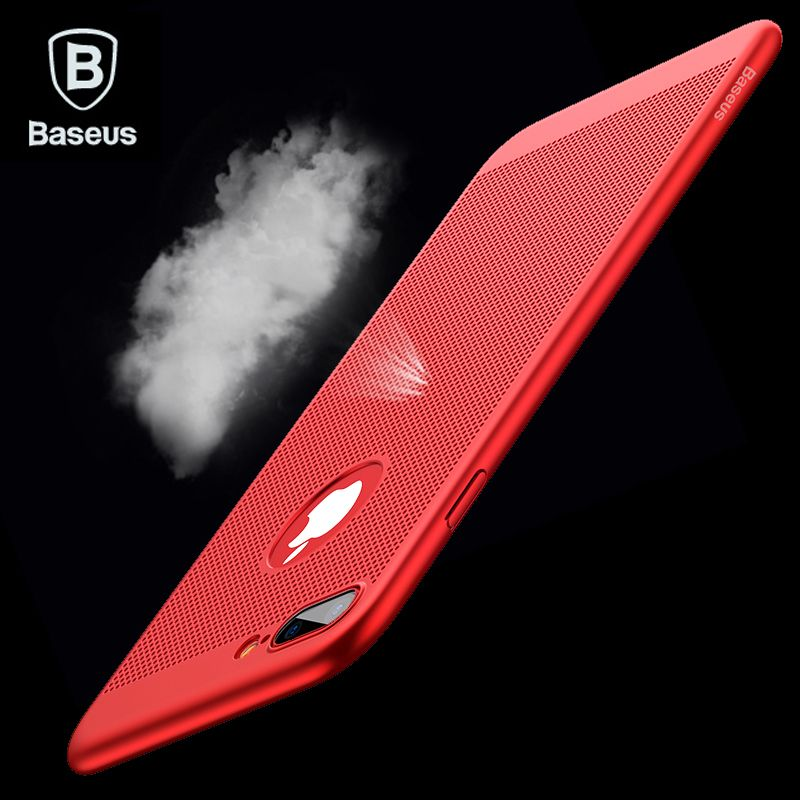 BASEUS дыхание чехол для телефона iPhone 7 6 6S Роскошные худощавое Coque Fundas ПК Жесткий Чехол для iphone 7 6S 6 Plus capinhas