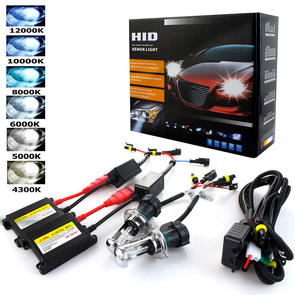 h7 Xenon 55W h1 h3 h4 Bi xenon H7 h8 h9 h11 9005 9006 881 Slim Ballast Hid kit 4300K 6000K 8000K 5000K Car Auto Headlight 12V
