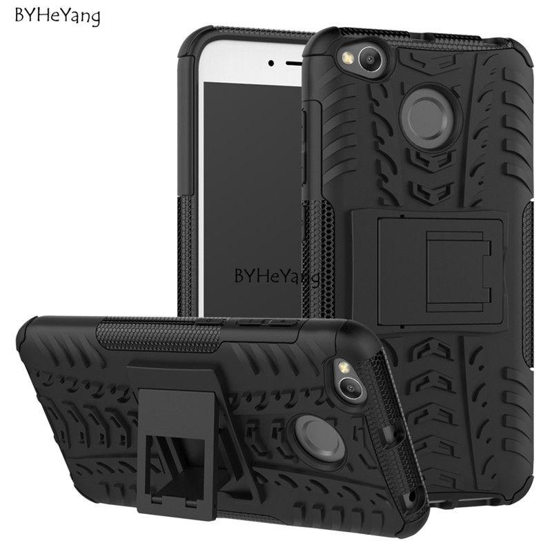 5,0 дюймов чехол xiaomi redmi 4 x противоударный ТПУ + PC чехол-подставка для телефона для xiaomi redmi 4x 4 x Pro панцири телефон защиты кожи