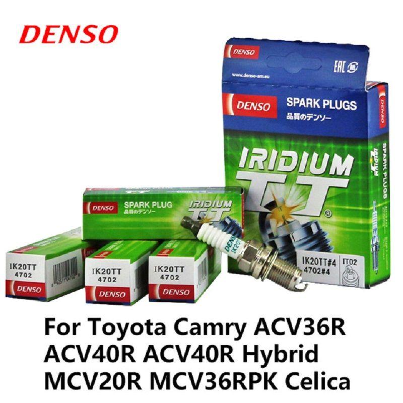 4pcs/lot DENSO Car Spark Plug Iridium Platinum For Audi A1 A3 A5 Chery Tiggo VW Bora BYD Great Wall Hover H3 H5 Swift IK20TT