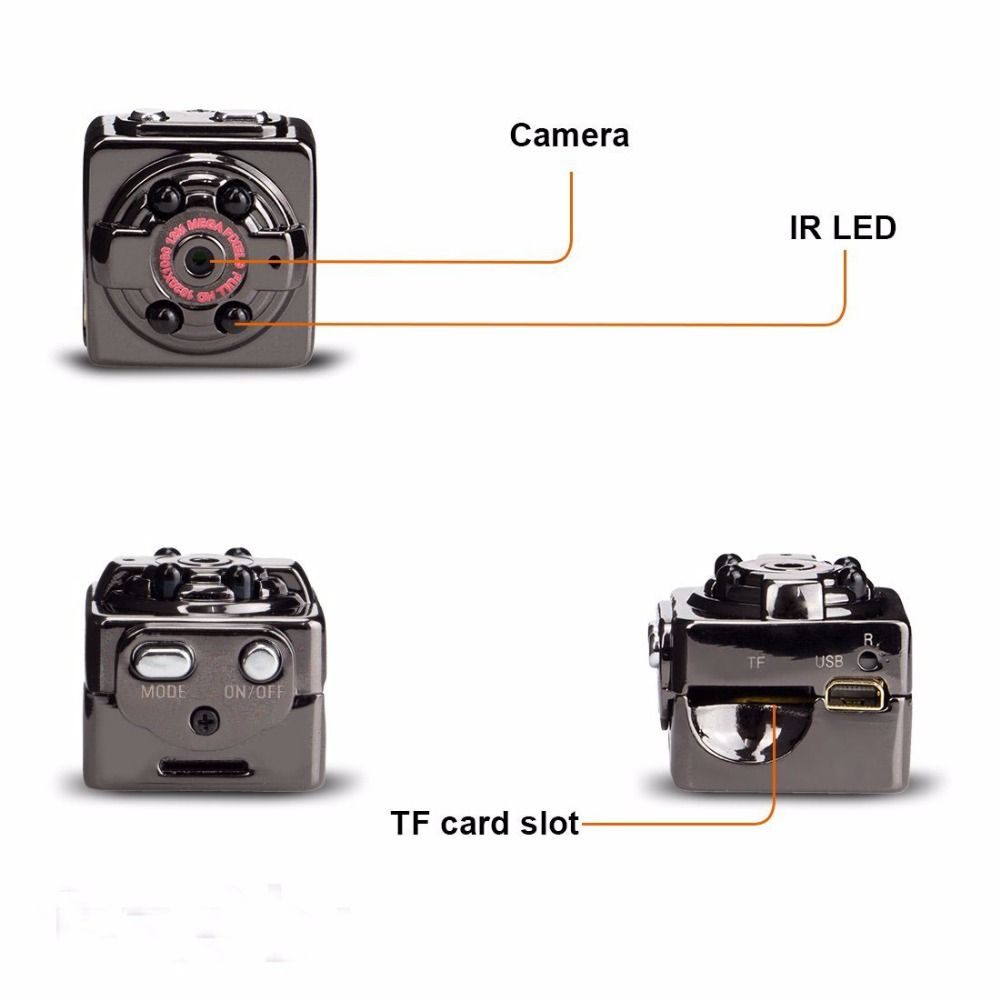 SQ8 FULL HD 1080P Mini Camera Night Vision DV Sport Action Digital Micro Cam Motion Detection Camcorder Recorder Nanny Secret
