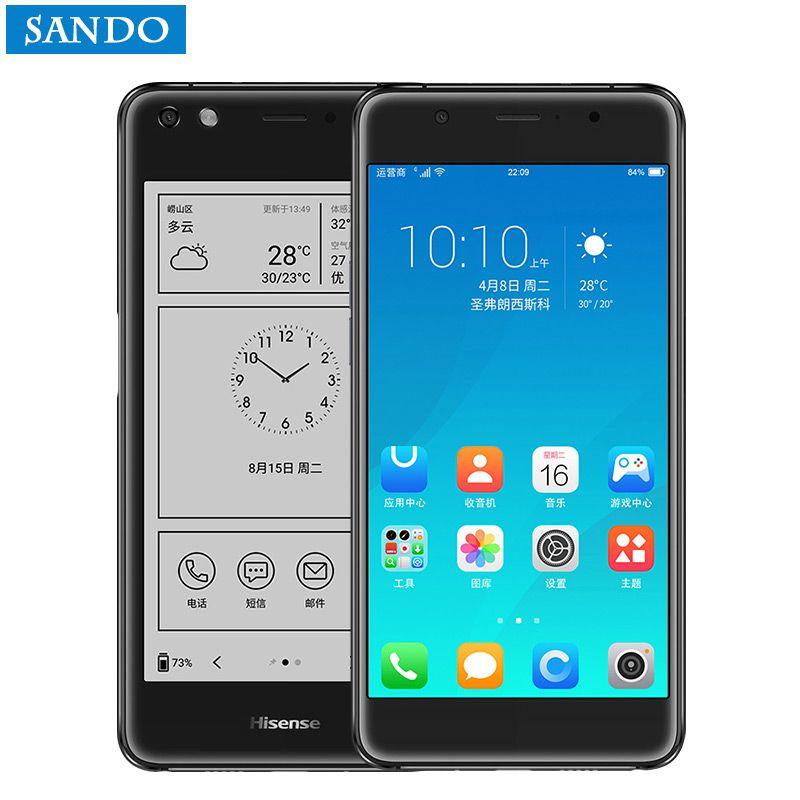 Hisense A2 Pro S9 A2T telefon 4G fingerprint mobile phone snapdragon 625 5.5