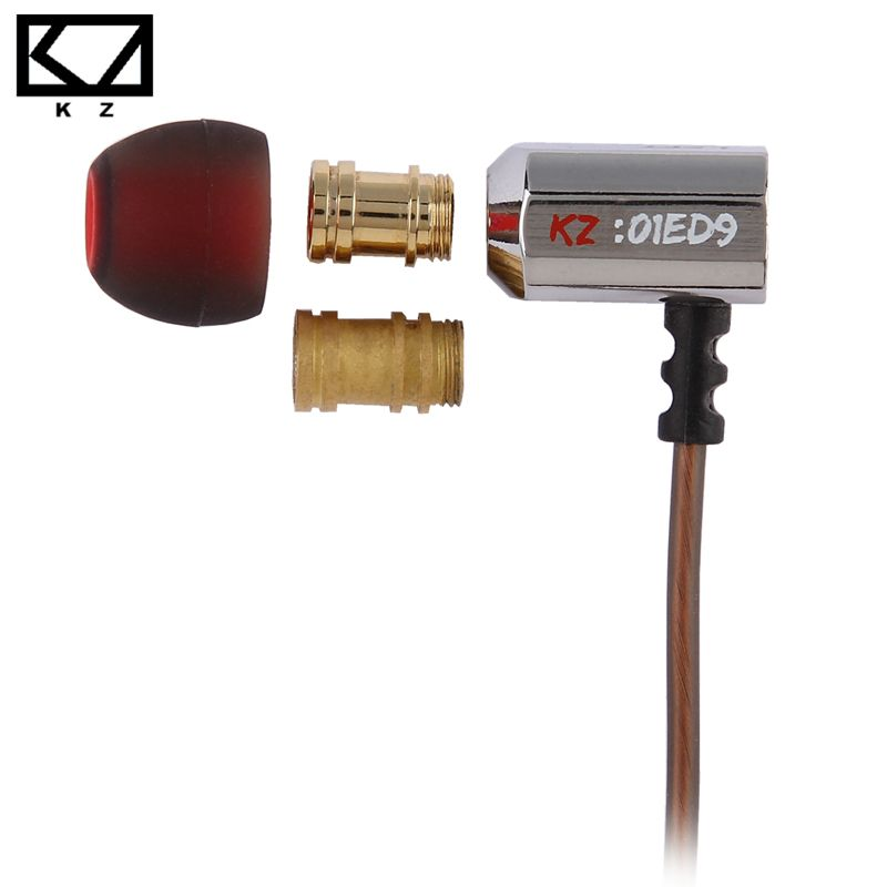 KZ ED9 <font><b>Super</b></font> Bowl Tuning Nozzles Earphone In Ear Monitors HiFi Earbuds With Microphone Transparent Sound
