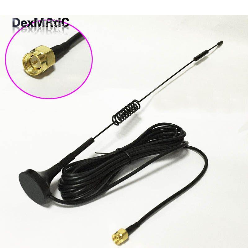 433 Mhz sans fil module antenne 10dbi gain élevé ventouse antenne 3 M câble SMA mâle connecteur #2
