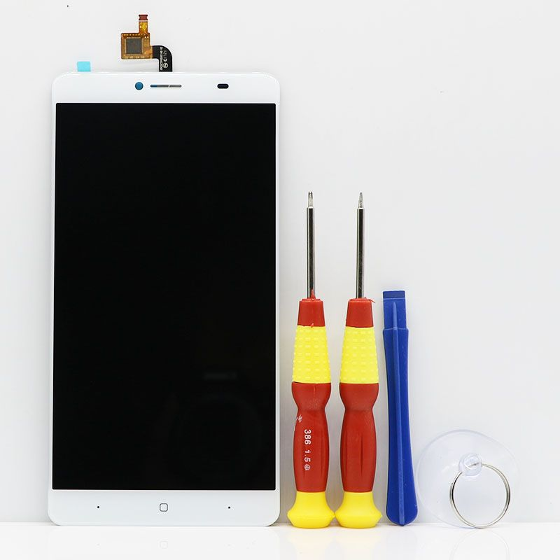 New original Touch Screen LCD Display LCD Screen For DOOGEE Y6 Max Replacement Parts + Disassemble Tool+Glue FPCYCTP65001HD