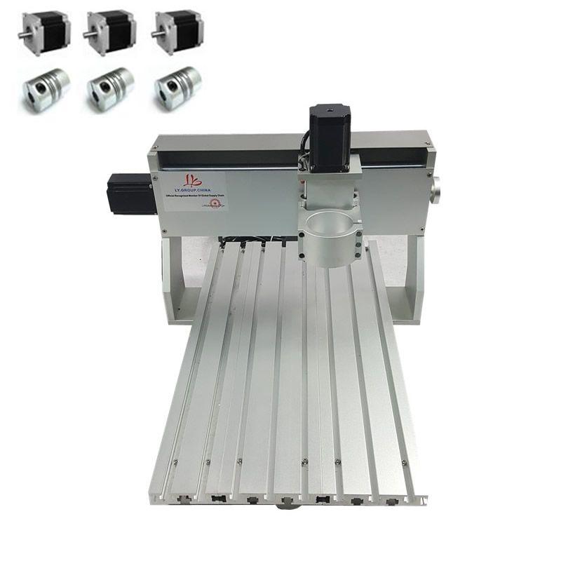CNC Gravur Maschine Rahmen DIY CNC Geeignet holz Router 3040 0.8KW 500 W Spindel fixture 65mm