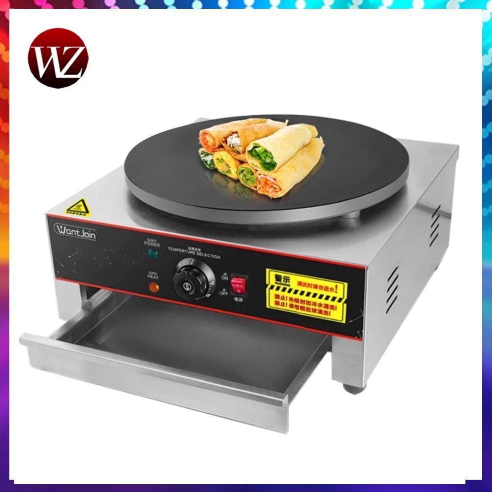 WanZhuo Snack Chinesischen frühstück crepes pfannkuchen maker küche tortilla maker crepera electrica pfannkuchen pan werkzeuge modus pizza maker