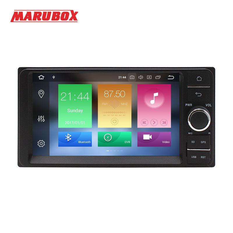 MARUBOX 2 Din Android 8.0 4 gb RAM Für Toyota Universal 7