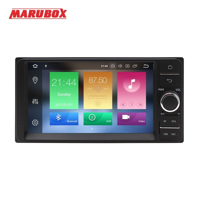 MARUBOX 2 Din Android 8.0 4GB RAM For Toyota Universal 7