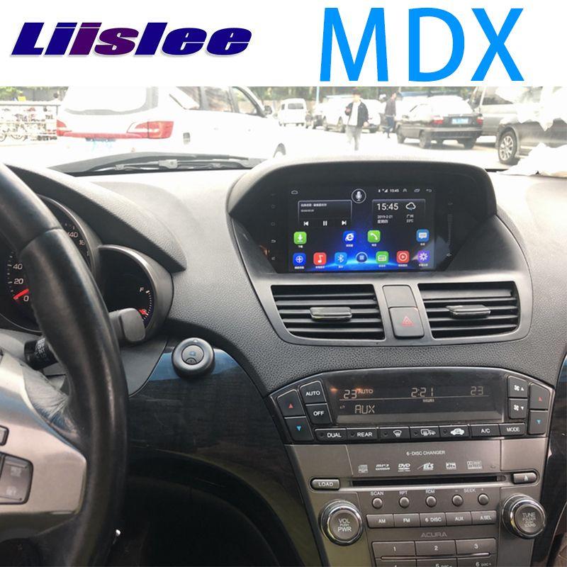 LiisLee Auto Multimedia GPS Hallo-fi Audio Radio Stereo Für Acura MDX MK2 2007 ~ 2013 Original Stil Navigation NAVI