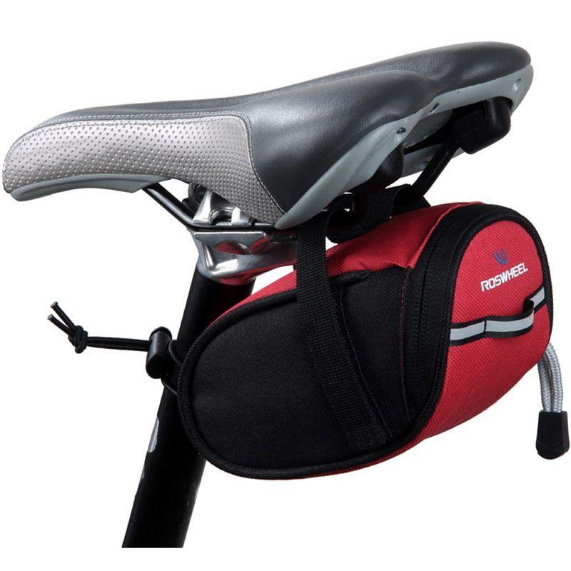 ROSWHEEL Wasserdichte Fahrrad Tasche Fahrrad Bike Lagerung Sattel Tasche Radfahren MTB Sitz Schwanz Hinten Pouch Schlüssel Brieftasche Telefon Halter