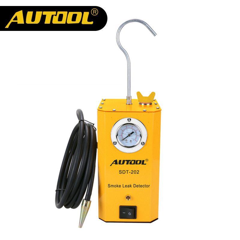 Original AUTOOL SDT-202 Car Smoke Machines For Cars Leak Locator Automotive Diagnostic Leak Detector SDT202 Discoverer