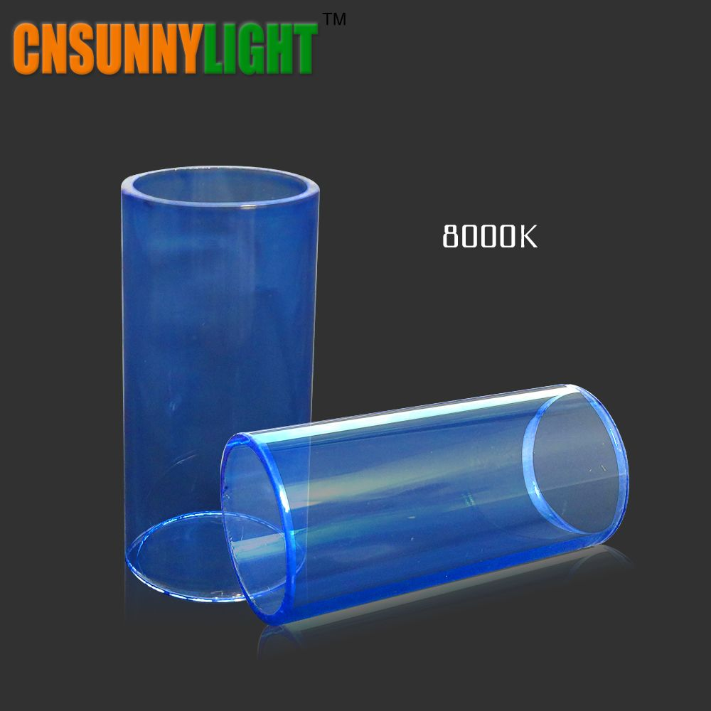 CNSUNNYLIGHT Car Light Bulb Glass tubes 3000K 4300K 8000K Replace Films Filters Special for Auto Led Headlight Kits in Our Store