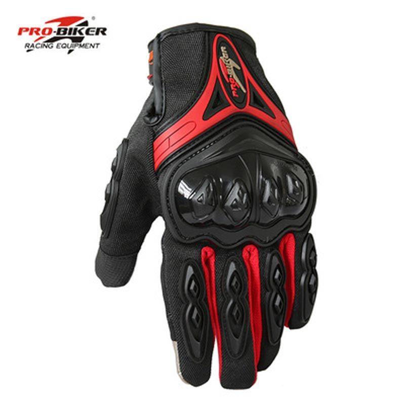 Pro-biker Outdoor Sports Cycling Racing Driving Gloves Full Finger Pro-Biker Bike Motorcycle Gloves