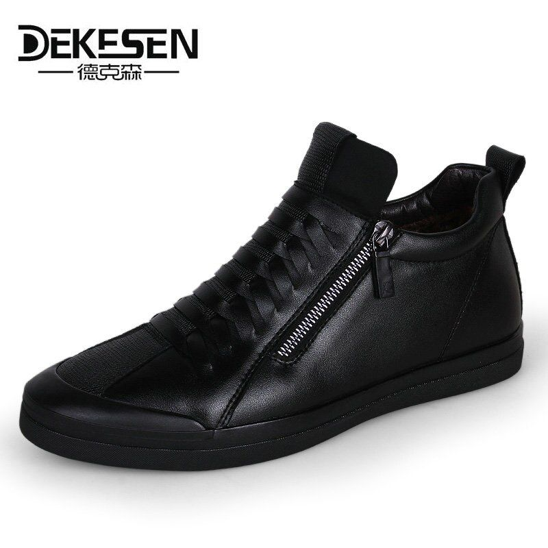 Dekese New Men Casual Shoes for men Autumn Slip on Krasovki Men Winter Shoes Luxury Brand Tenis Feminino Casual Loafers Gumshoes