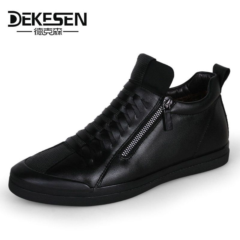 Dekese New Men Casual Shoes for men Autumn Slip on Krasovki Men Winter Shoes Luxury Brand Tenis Feminino Casual Loafers Gumshoes