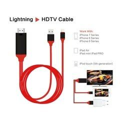 EDAL 1080 p HDTV TV AV Numérique Adaptateur Cordon 8 Broches à HDMI Câble USB HDMI Smart Converter Câble pour apple TV iPhone 8 Pour iPad Air