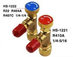 R410A R22 R407C Refrigerant Alat Retensi Control Valve AC Charging Valve