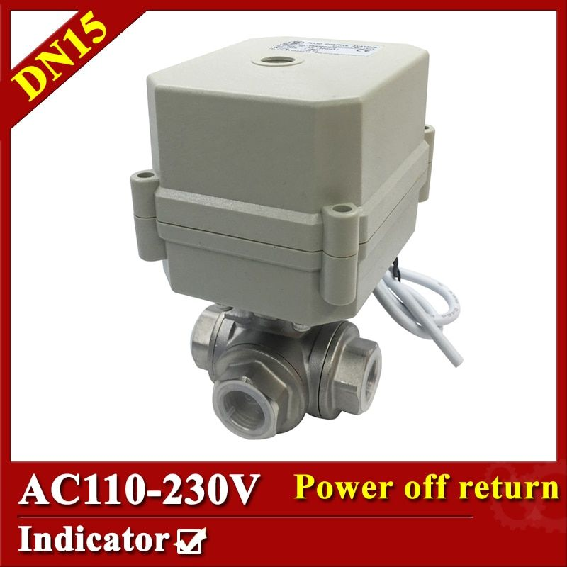 Tsai Fan Electric motorized valve 1/2