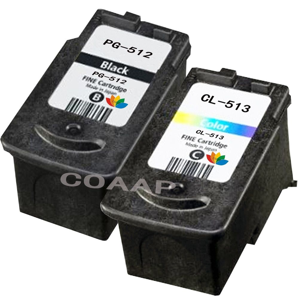 XL PG512 Black & CL513 Colour Refillable Ink Cartridge For CANON PIXMA IP2700 2700 MP495 MP230 Ink Printer