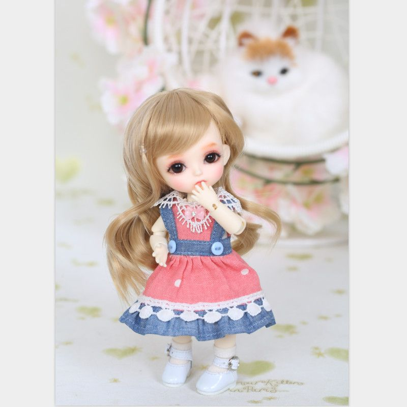 BJD Poupées Lati Jaune Ensoleillé Lea Lami Kuro Coco 1/8 Mignon Belle Mode Résine Figure Haute Qualité Jouet Pour Filles lol Luts