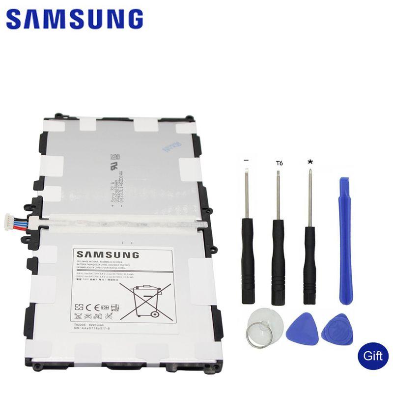 Samsung Flat Spare Battery T8220E For Samsung GALAXY Note 10.1 Tab Pro 10.1 P600 P601 P605 SM-P607 SM-T520 SM-T525 8220mAh