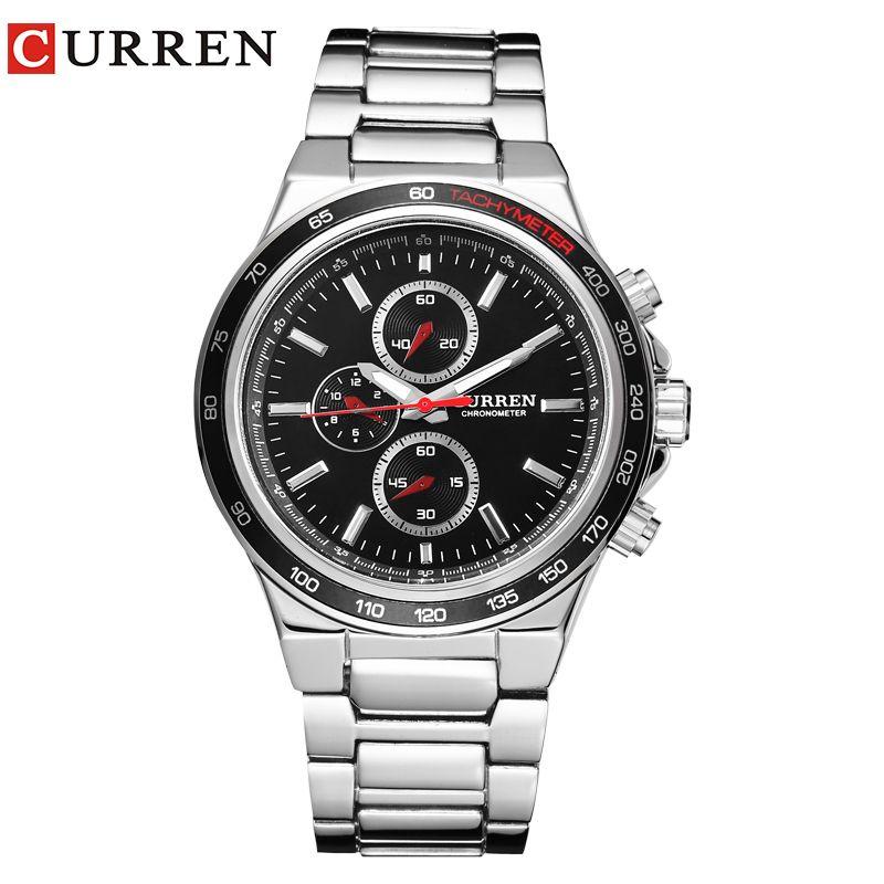 CURREN men watch calendar male watch quartz watch watch Tide <font><b>brand</b></font> casual fashion male table 8011