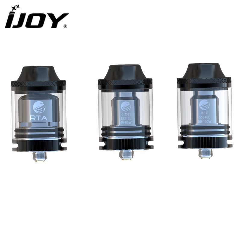 IJOY RTA Tornado 150 Sub Ohm Tank High Wattage 4.2ml Capacity Top-filling Design Rebuildable Atomizer