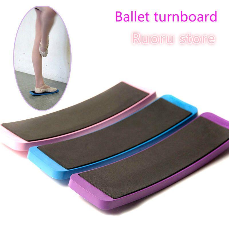 Ballet Turnboard Puple Rose Bleu Ballet De Danse Conseil D'administration Tour Ballet Pirouette Formation Turnboard Danse Spin Conseil D'administration Tour Outils Est Amusant