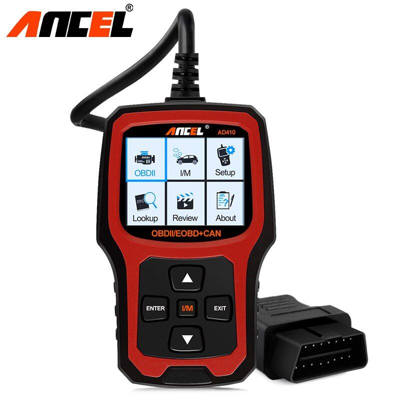 Ancel Original OBD2 Scanner AD410 OBD 2 EOBD ODB2 Engine Fault Code Reader Tool Car Diagnostic Tool OBD2 Automotive Scanner