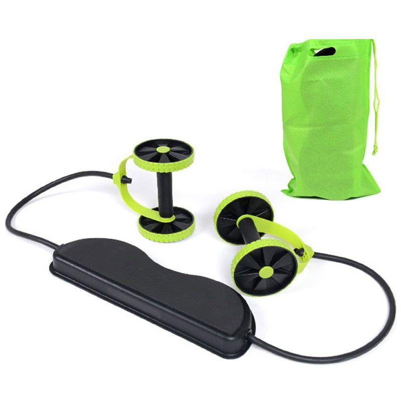 Ab rouleau roue abdominale Muscle formateur roue bras taille jambe exercice multi-fonctionnel Gym équipements de Fitness pour la livraison directe