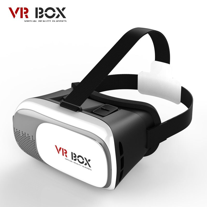 2017 Hot VR BOX 2 3D Glasses Version Virtual Reality Video Movie Game Glasses Headset + Bluetooth Remote Controller
