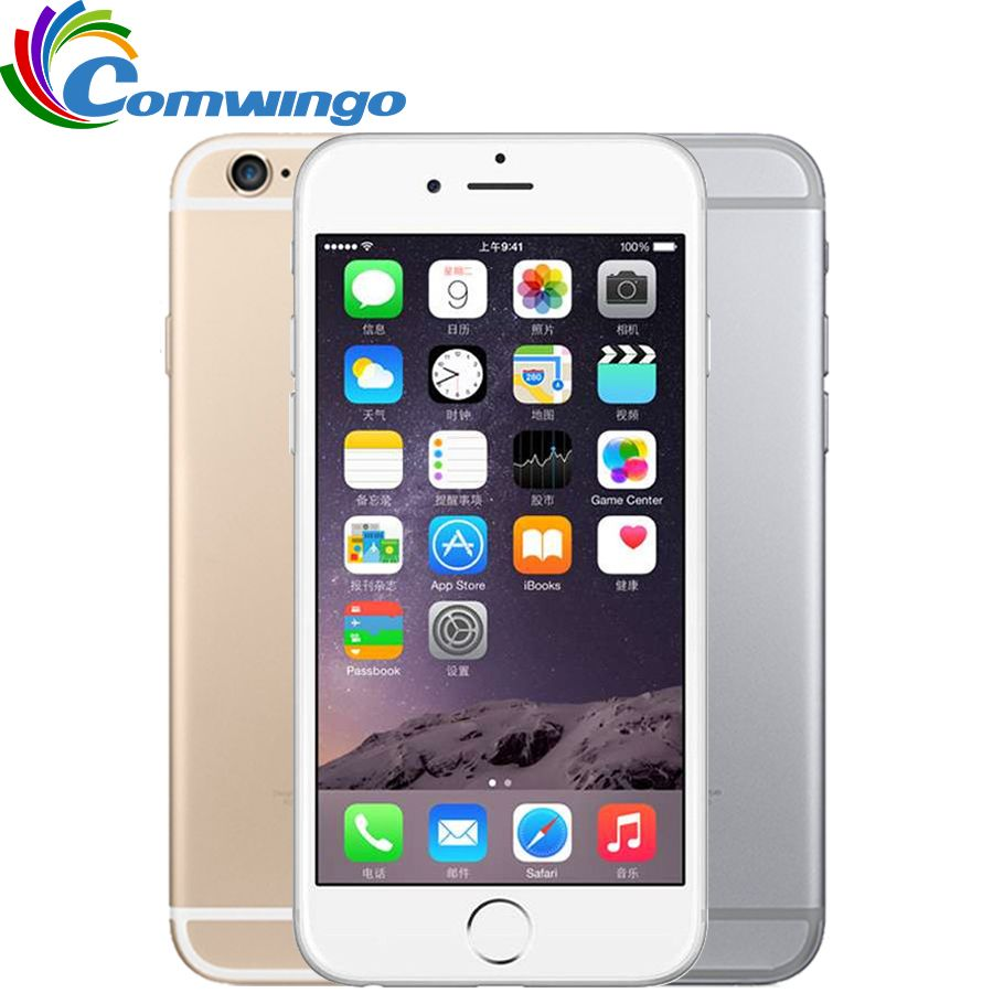 Unlocked Apple iPhone 6 Cell Phones 1GB RAM 16/64/<font><b>128GB</b></font> ROM 4.7'IPS GSM WCDMA 4G LTE mobile phone iPhone6 Used Mobile Phone