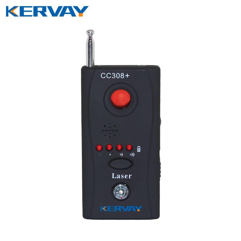 Kervay CC308 Wireless Mango frecuencia Completa detector Láser Detector de La Cámara Para la Privacidad Personal GSM Buscador de Cámaras de Seguridad