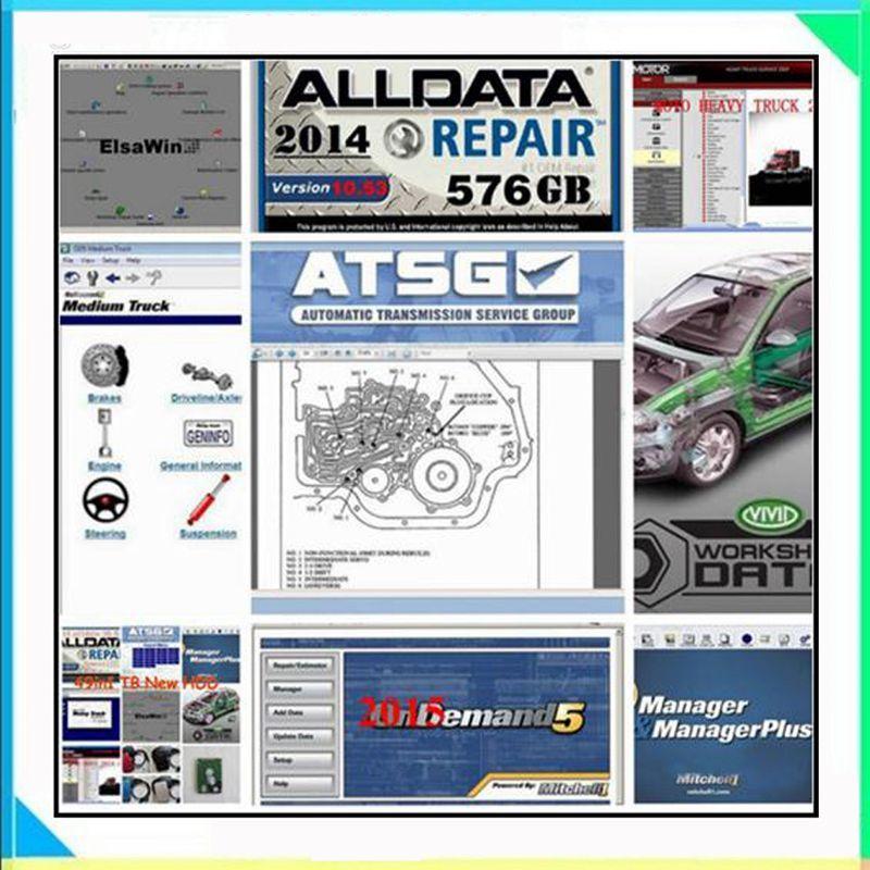 Alldata Software auto repair software alldata and mitchell software mitchell ondemand 2015 vivid workshop data atsg 49in 1tb hdd
