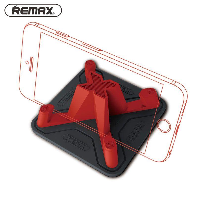 Remax voiture support pour téléphone Silicone souple anti-dérapant tapis support pour téléphone Mobile intelligent support pour voiture support pour iPhone 7 5 s 6 samsung S7