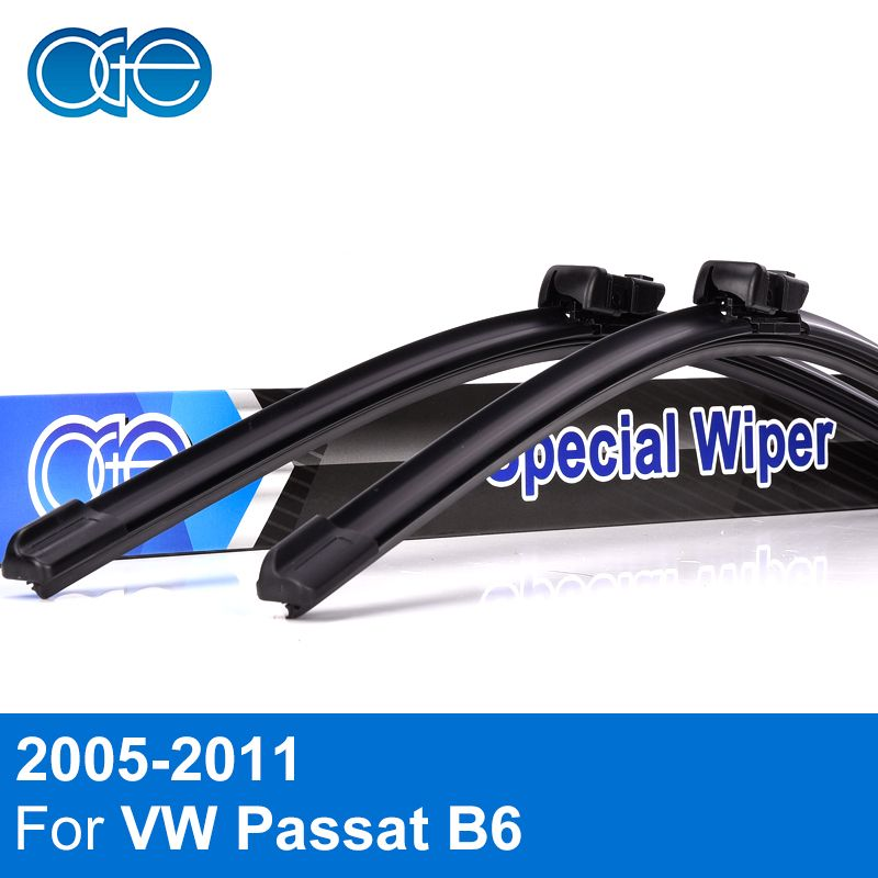 Oge Lames D'essuie-Glace Pour VW Passat B6 2005 2006 2007 2008 2009 2010 2011 de Haute Qualité En Caoutchouc Pare-Brise De Voiture Accessoires