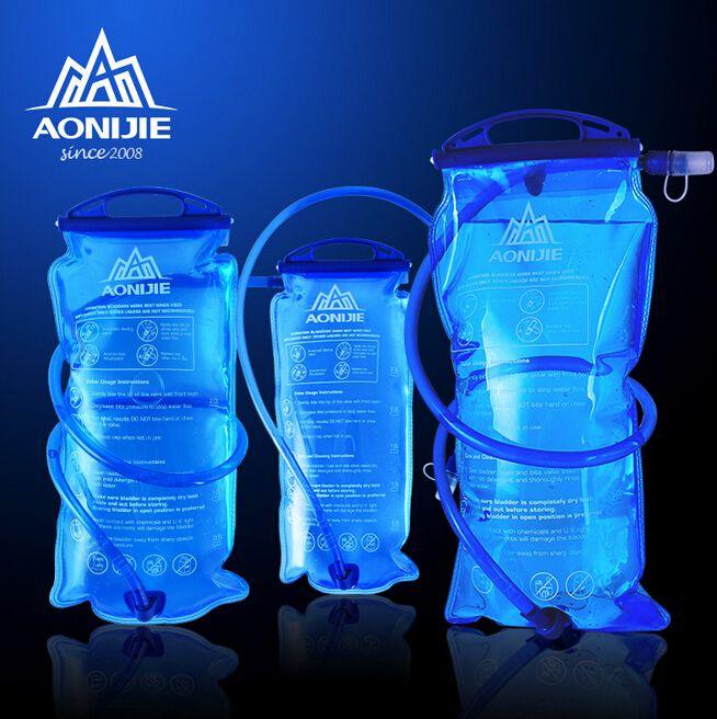 AONIJIE1.5L/2L/3L Wasser Blase Tasche PEVA Trinkblase Radfahren Wandern Camping Pack Wasser Tasche